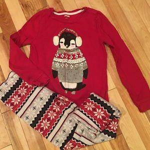 Penguin Gymboree outfit size 8
